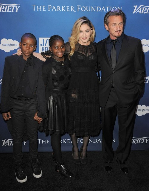 Madonna at the Help Haiti Home Gala, Beverly Hills - 9 January 2016 (22)