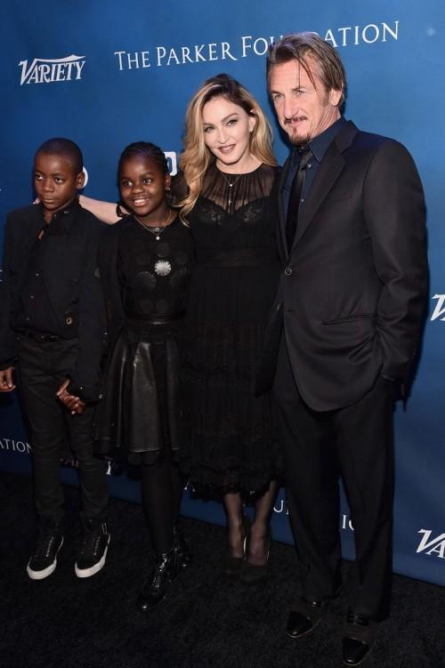 Madonna at the Help Haiti Home Gala, Beverly Hills - 9 January 2016 (37)