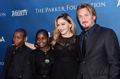 Madonna at the Help Haiti Home Gala, Beverly Hills - 9 January 2016 (38)