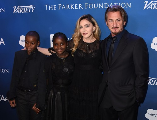 Madonna at the Help Haiti Home Gala, Beverly Hills - 9 January 2016 (41)