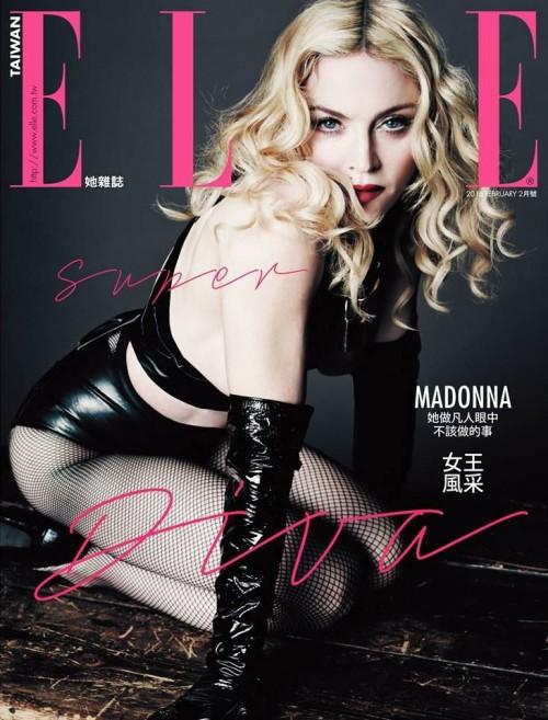 Madonna ELLE Taiwan February 2016