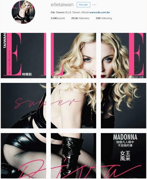 Madonna ELLE Magazine Taiwan February 2016 (2)
