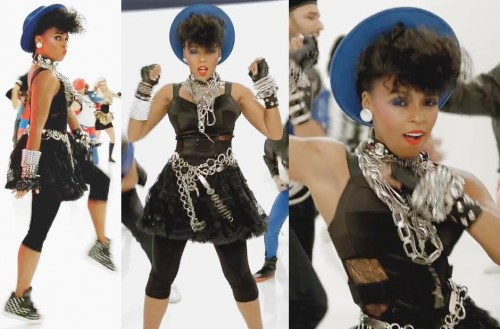 Janelle Monae goes Madonna for Pepsi