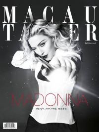 Madonna is on the cover of Macau Tatler (February-March 2016 issue)