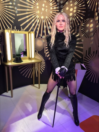 Madonna Rebel Heart Singapore - Madame Tussauds