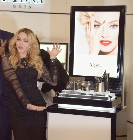 Madonna promotes MDNA Skin in Tokyo - 15 February 2016 (3)