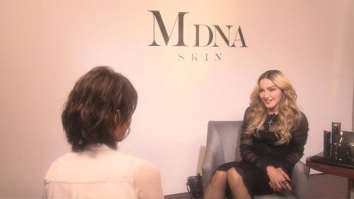 Exclusive Madonna interview for Japanese News Zero - 18 February 2016 02