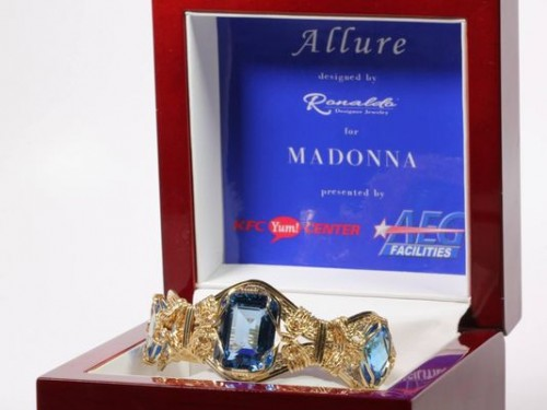 Ronaldo Designer Jewelry for Madonna