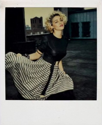 Madonna Polaroid by Richard Corman - Vanity Fair Italia (1)