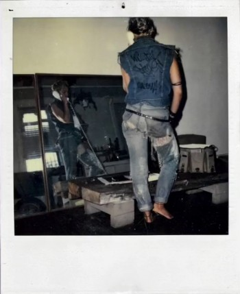 Madonna Polaroid by Richard Corman - Vanity Fair Italia (3)