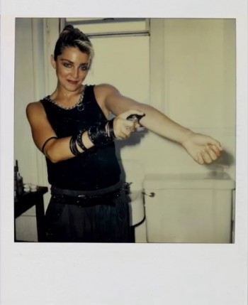 Madonna Polaroid by Richard Corman - Vanity Fair Italia (5)