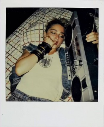 Madonna Polaroid by Richard Corman - Vanity Fair Italia (6)