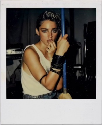 Madonna Polaroid by Richard Corman - Vanity Fair Italia (7)