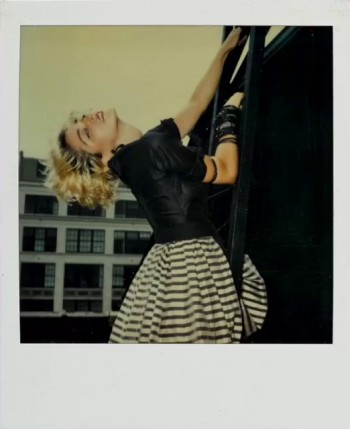 Madonna Polaroid by Richard Corman - Vanity Fair Italia (8)