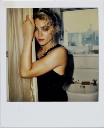 Madonna Polaroid by Richard Corman - Vanity Fair Italia (9)