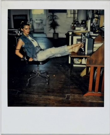 Madonna Polaroid by Richard Corman - Vanity Fair Italia (10)