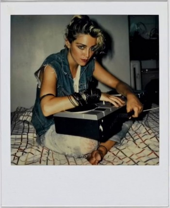 Madonna Polaroid by Richard Corman - Vanity Fair Italia (11)