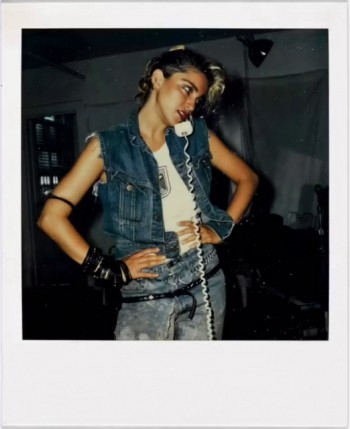 Madonna Polaroid by Richard Corman - Vanity Fair Italia (12)