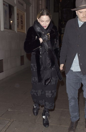 Madonna and Rocco out and about in London - 11 April 2016 (4)