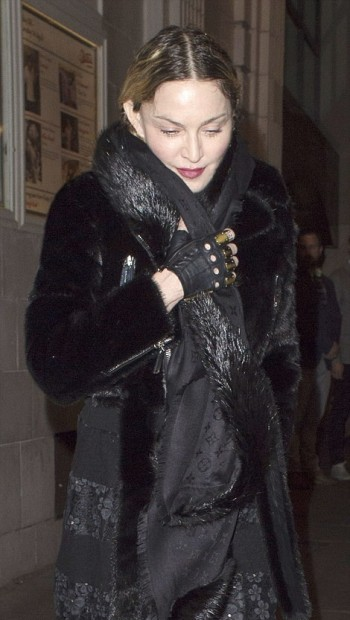 Madonna and Rocco out and about in London - 11 April 2016 (5)