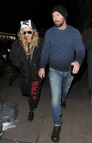 Madonna and Rocco out and about in London - 16 April 2016 (3)