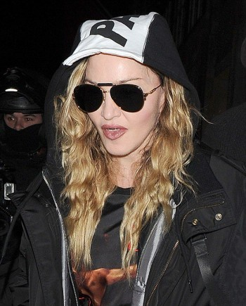 Madonna and Rocco out and about in London - 16 April 2016 (7)