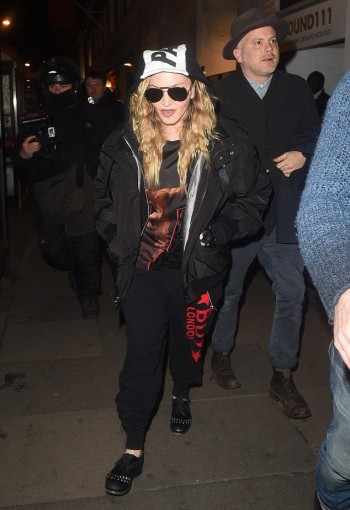 Madonna and Rocco out and about in London - 16 April 2016 (8)