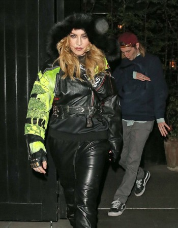 Madonna out and about in London - 17 and 18 April 2016 - Pictures (8)