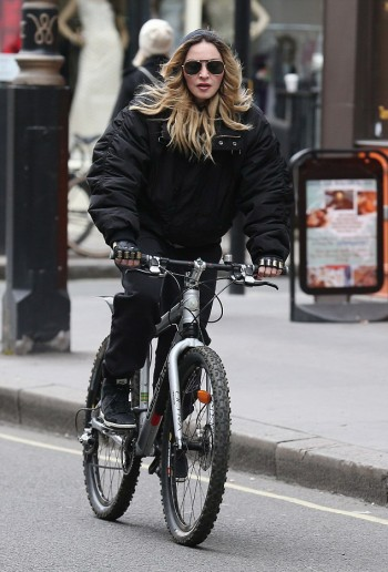 Madonna out and about in London - 17 and 18 April 2016 - Pictures (1)