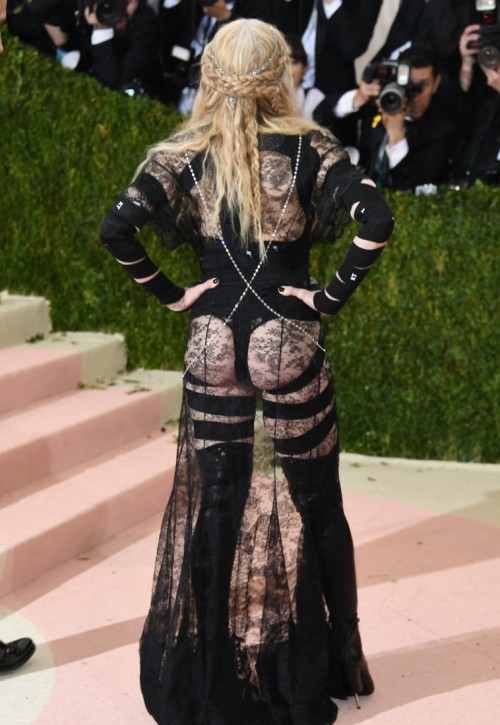 Madonna attends the Met Gala at the Metropolitan Museum of Art in New York - 2 May 2016 (2)