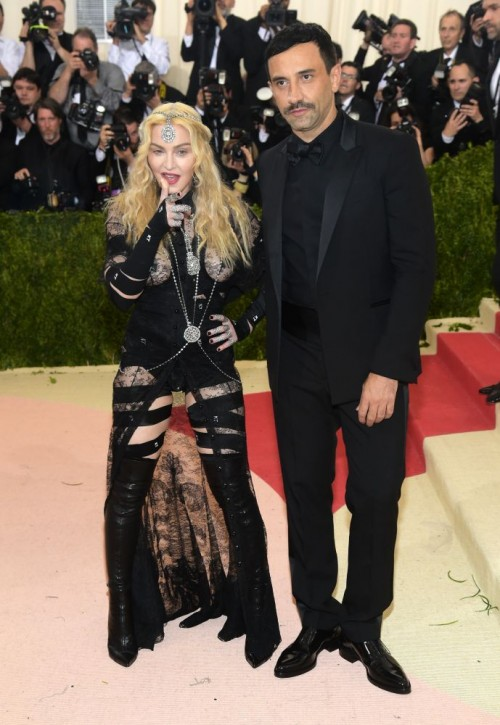 Madonna attends the Met Gala at the Metropolitan Museum of Art in New York - 2 May 2016 (6)