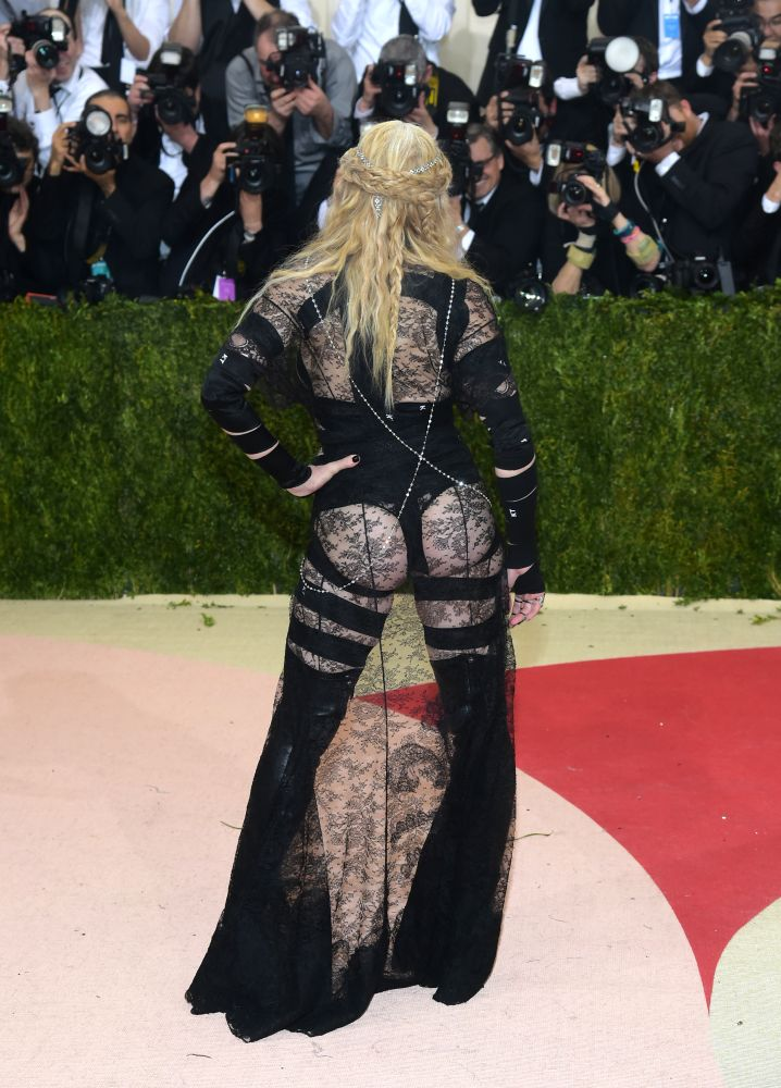 Madonna Attends The Met Gala At The Metropolitan Museum Of
