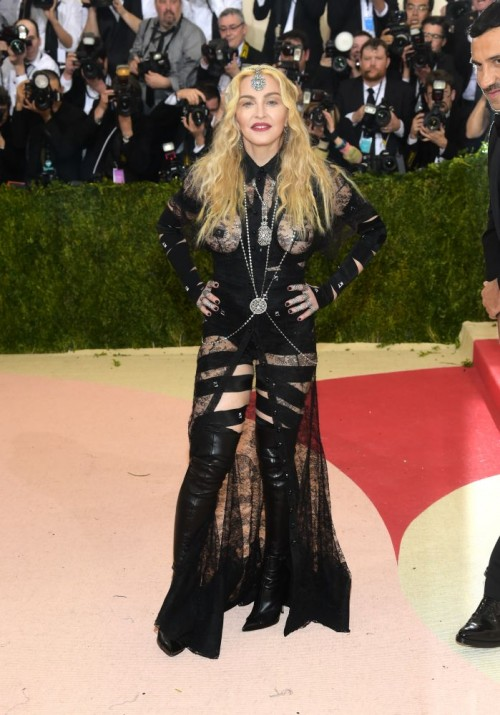 Madonna attends the Met Gala at the Metropolitan Museum of Art in New York - 2 May 2016 (8)
