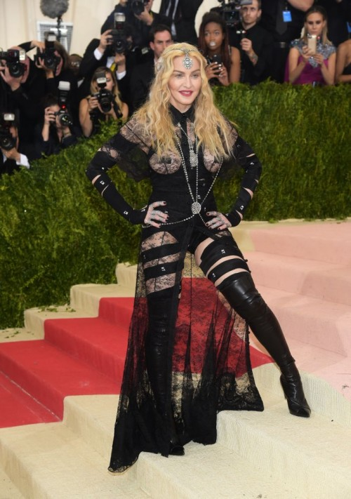 Madonna attends the Met Gala at the Metropolitan Museum of Art in New York - 2 May 2016 (9)