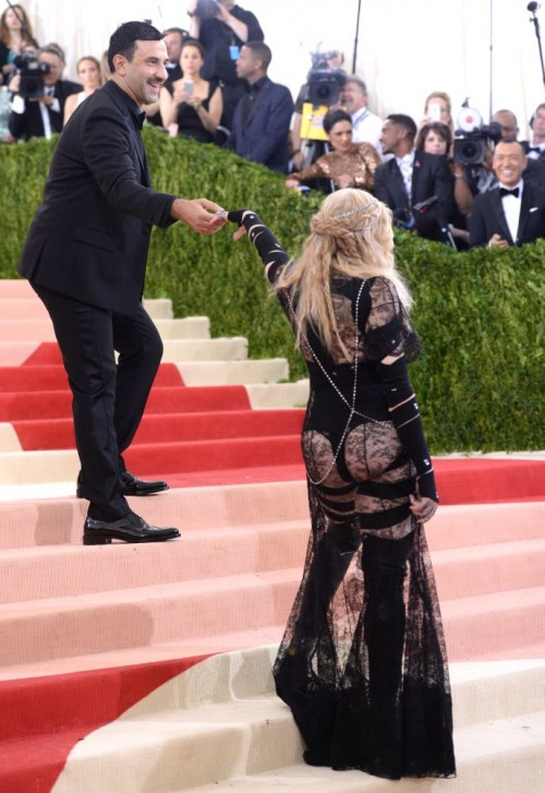 Madonna attends the Met Gala at the Metropolitan Museum of Art in New York - 2 May 2016 (10)