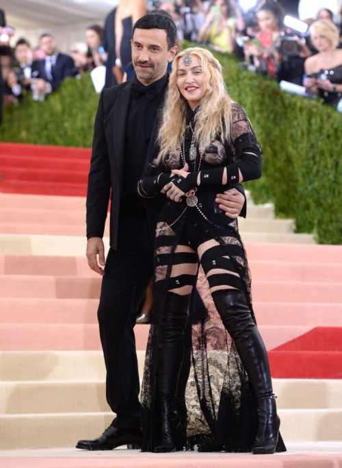 Madonna attends the Met Gala at the Metropolitan Museum of Art in New York - 2 May 2016 (11)