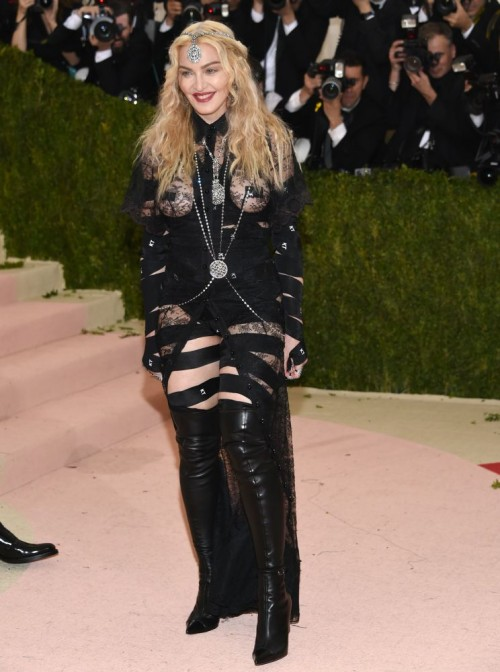 Madonna attends the Met Gala at the Metropolitan Museum of Art in New York - 2 May 2016 (12)