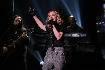 Madonna performs Borderline on Tonight Show Starring Jimmy Fallon (5)