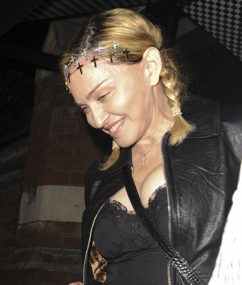 Madonna out and about in London - 30 June 2016 - Pictures (4)