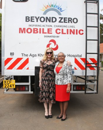Madonna seeks partnership with First Lady's Beyond Zero initiative (1)