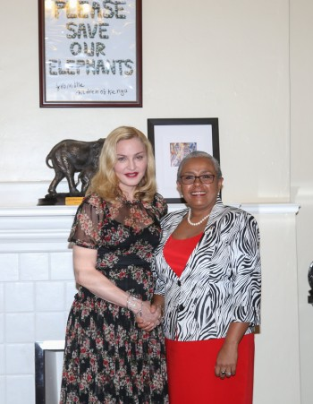 Madonna seeks partnership with First Lady's Beyond Zero initiative (2)