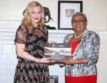 Madonna seeks partnership with First Lady's Beyond Zero initiative (3)