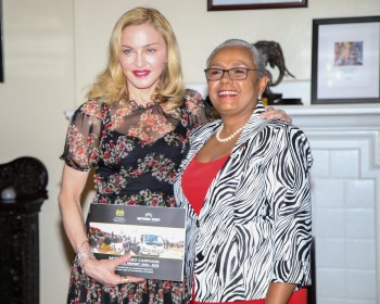 Madonna seeks partnership with First Lady's Beyond Zero initiative (4)