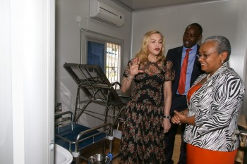 Madonna seeks partnership with First Lady's Beyond Zero initiative (7)