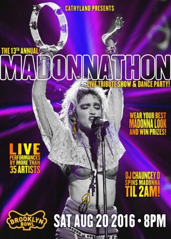 13th annual MADONNATHON