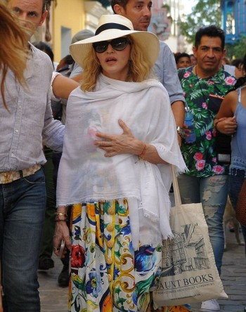 Madonna celebrates her birthday in Havana, Cuba - August 2016 - v02 03