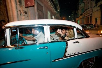 Madonna at La Guarida in Havana, Cuba - August 2016 - Pictures & Video (1)