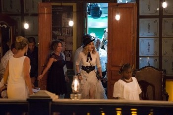 Madonna at La Guarida in Havana, Cuba - August 2016 - Pictures & Video (6)