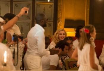 Madonna at La Guarida in Havana, Cuba - August 2016 - Pictures & Video (11)