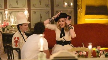 Madonna at La Guarida in Havana, Cuba - August 2016 - Pictures & Video (16)